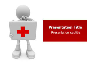 3D villain medical and health industry ppt template