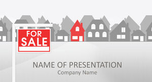 Alternative housing sales ppt template