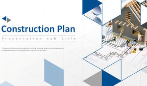 Architectural design company products and market operations introduced ppt template