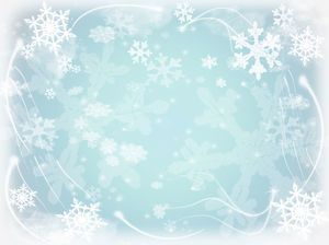 Beautiful fantasy snowflake background pictures
