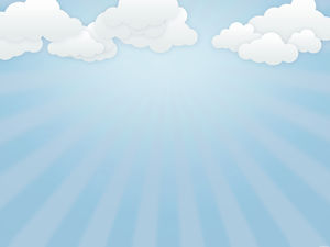 Blue sky cloud vector background picture