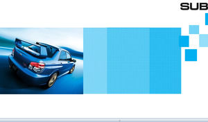 Car sales year-end summary report ppt template