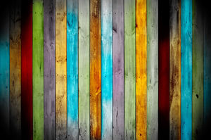 Color painted wood background material