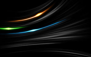 Color three-dimensional line light HD background picture