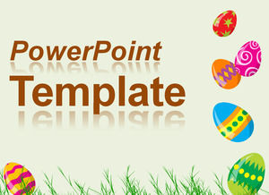 Egg - vibrant color ppt template
