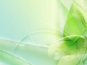 Elegant green refreshing ppt background image