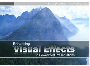 Exquisite visual effects European and American style album ppt template