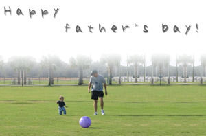 Father's Day Happy - Father's Day ppt template
