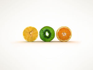 Fruit theme elegant background HD picture