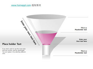 Funnel ppt chart