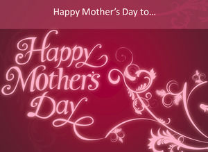 Happy Mother's Day Mother's Day ppt template
