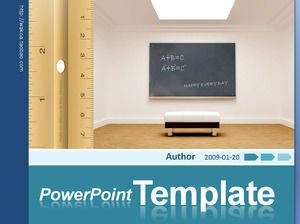 Interior decoration decoration ppt template