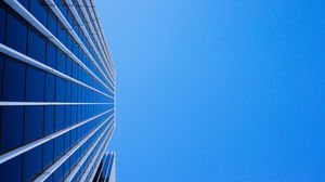 Look up at high-rise visual high-definition big picture