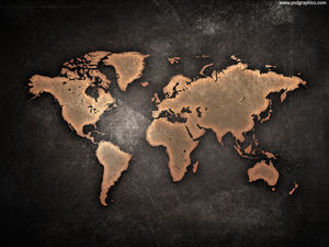 Metal texture world map background image