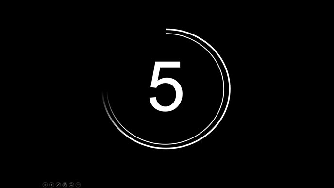 Opening Countdown dynamic slideshow templates