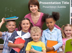 Primary education ppt template