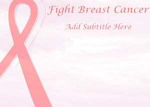 Ppt for Breast cancer ppt template