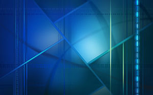 Staggered lines of three - dimensional space feeling blue background pictures