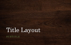 Suitable for leisure business widescreen wood background ppt template