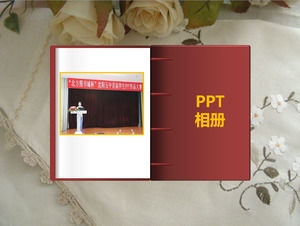 Translate the effect of ppt dynamic album template