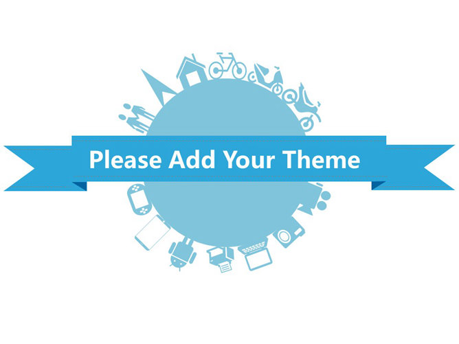 Universal color small fresh three PPT Templates
